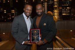 With 2016 Awardee Roy Waterman